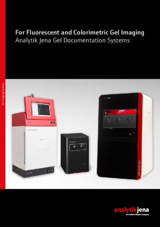 Brochure Gel Imaging Systems (Englisch)