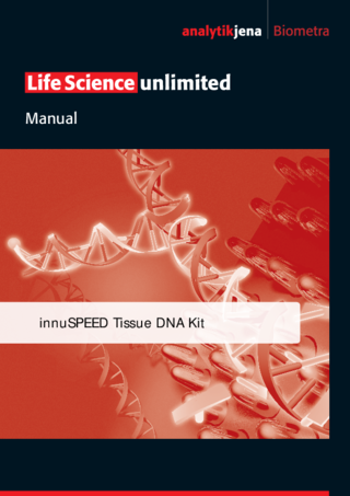 Manual innuSPEED Tissue DNA Kit