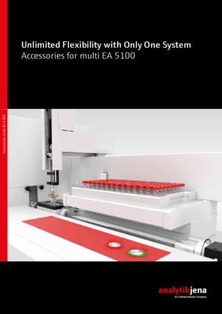 multi EA 5100 Accessories