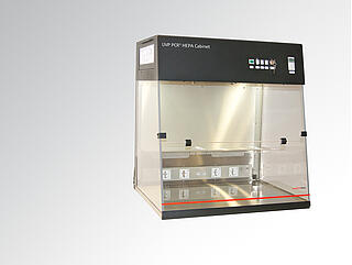 UVP PCR UV3 HEPA Cabinet Workstation Header