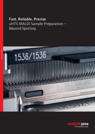 Brochure uHTS MALDI Sample Preparation (English)